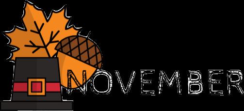 November Family Event Calendar
