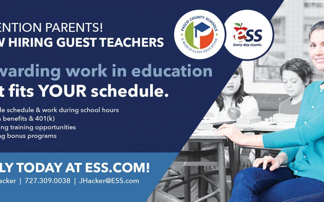 Hiring Guest Teachers